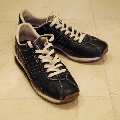靴_靴紐交換